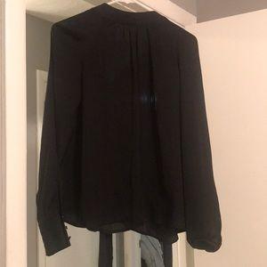 Silky black shirt